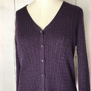 BROOKS BROTHERS cashmere silk cardigan